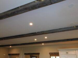 Rustic Home wood beams