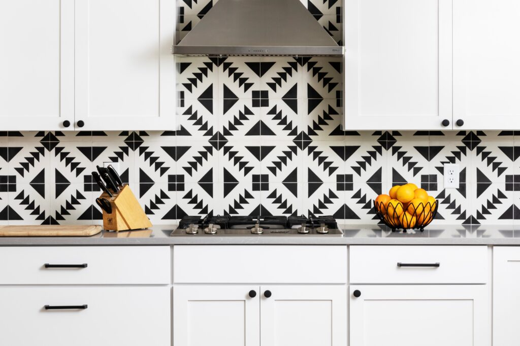 backsplash in kitchen custom home remodel